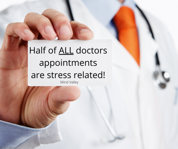 Half of ALL doctors' appointments are stress related